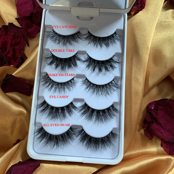 MIRROR ON THE WALL - 5 Piece Lash Book - Blink and Wink Minks