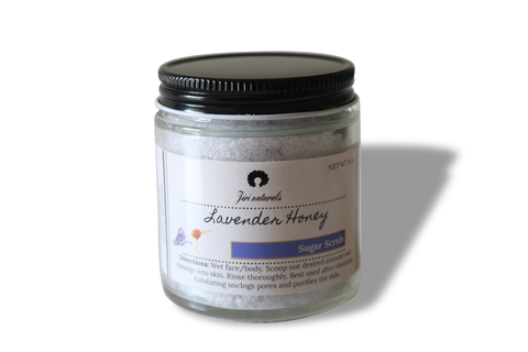 Lavender Honey Scrub