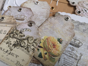 Art Journaling Kit Envelopes & Tags