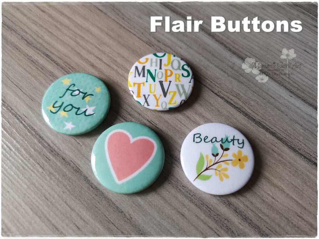 Flair Buttons 'For You'
