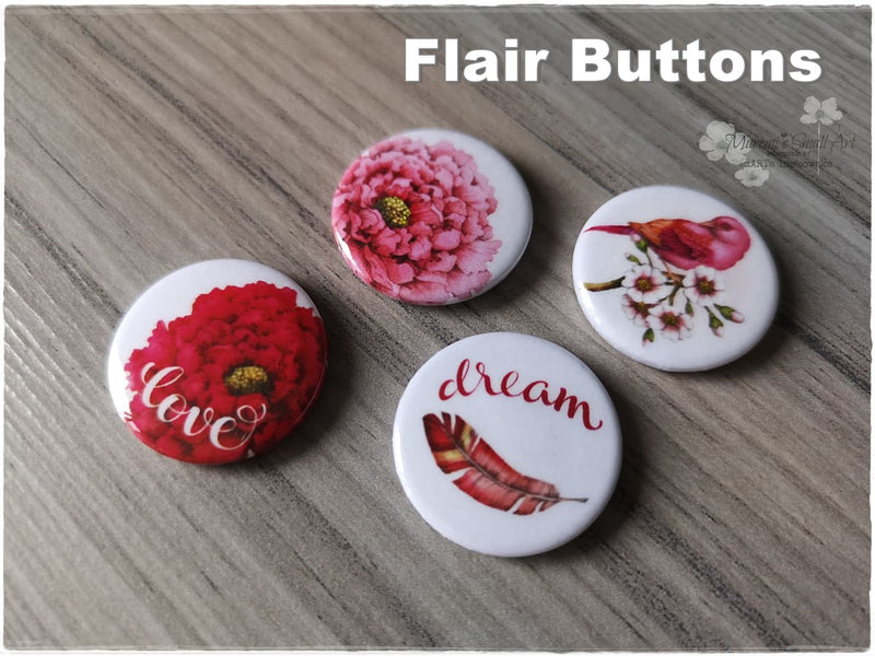 Flair Buttons 'Dream'