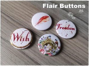 Flair Buttons 'Freedom'