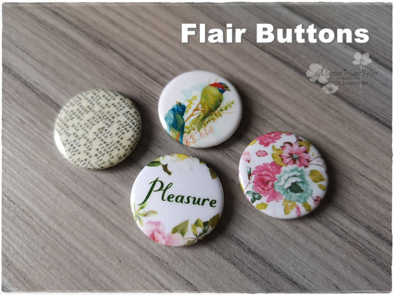 Flair Buttons 'Pleasure'