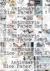 Full Set (28pages) 'Antiquario' Collection Maremi's Rice Papers