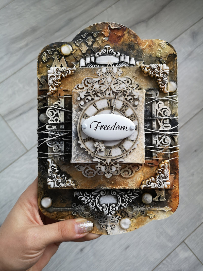 Vintage Freedom - Mixed Media Online Class + products KIT
