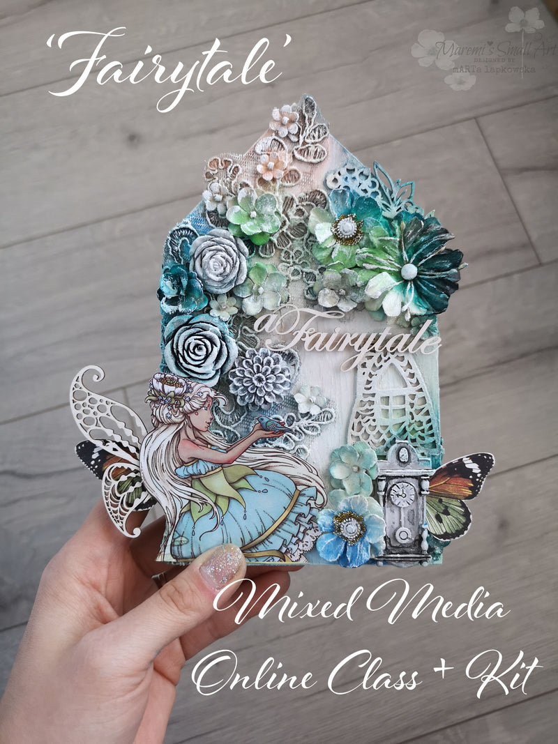 Fairytale - Mixed Media Online Class + products KIT