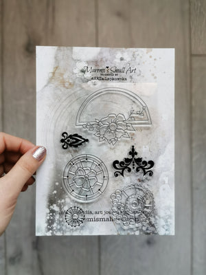 Maremi's Stamp Set Ornament 1