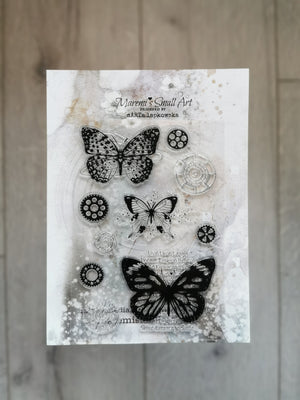 Maremi's Stamp Set Butterflies