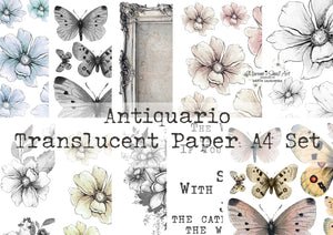 A4 'Antiquario' Maremi's Translucent Papers Pad