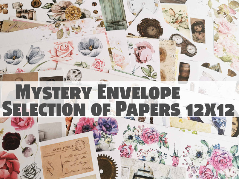 Mystery Envelope Papers - SALE