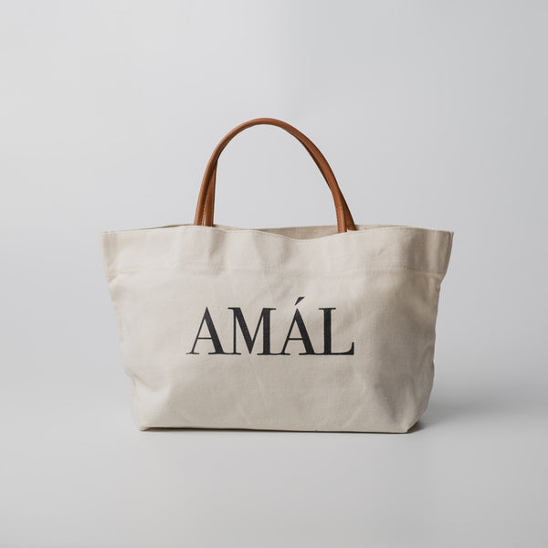 OVERSIZED AMÁL TOTE BAG