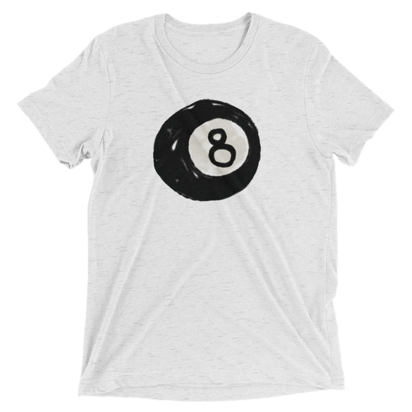 Unisex Vintage '8 Ball' Short sleeve t-shirt