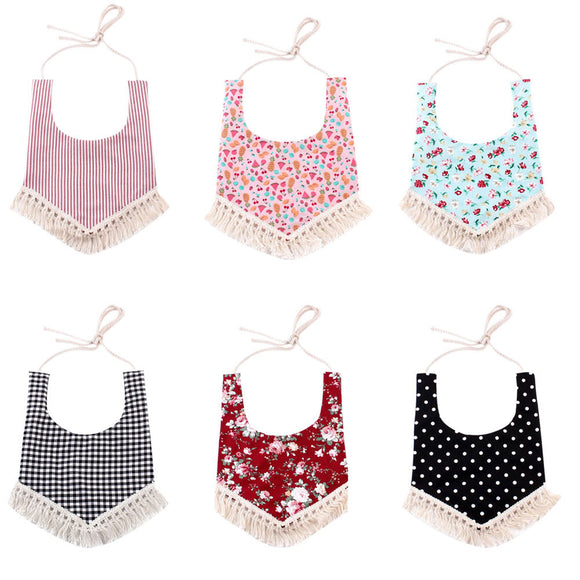 Baby Cotton Bibs Newborn Infant Baby Girls&Boys
