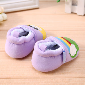 Rainbow Cartoon Baby Shoes Soft Sole Footwear Shoes