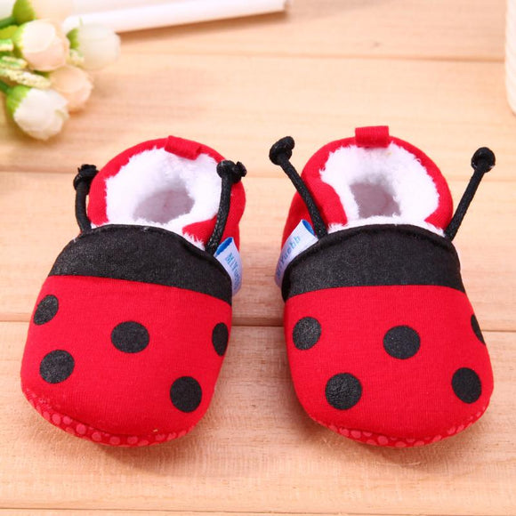 Winter Baby Shoes Soft Cotton Cartoon