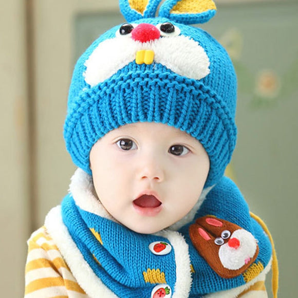 Baby Winter Hat Cartoon Rabbit Ears Hats