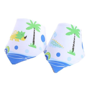 2pcs/lot New Baby Cotton Bib Infant Saliva Towels