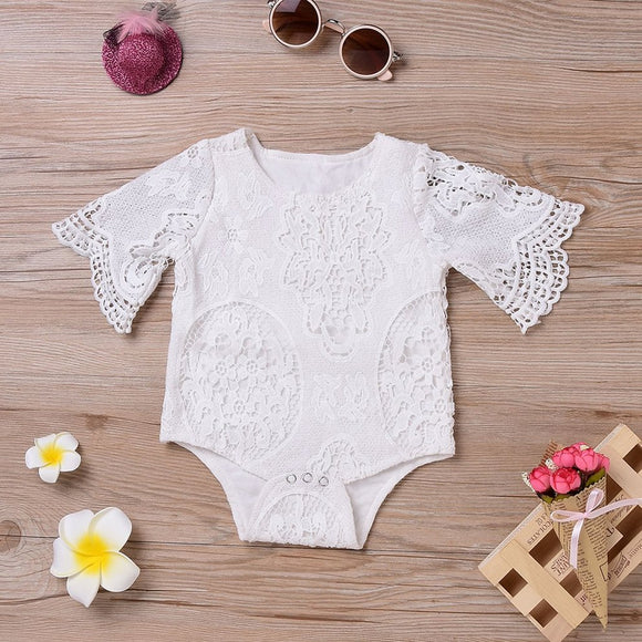 Lovely Newborn Infants Baby Girls Daily Wear