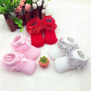 Baby Girl Socks Infants Lace Ankle Socks Princess