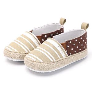 Baby Boy Girl Cotton Shoes Newborn First Walkers