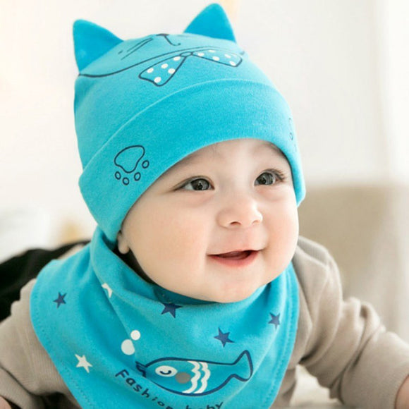 Newborn Fashion Accessories Baby Big Face Cat Hat