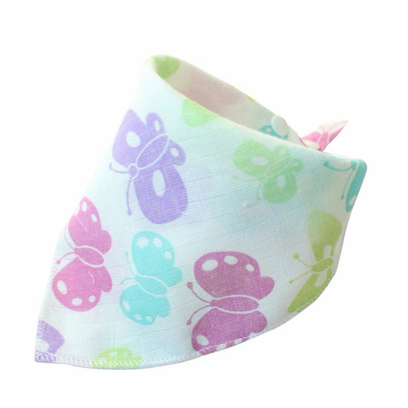 Cotton Cartoon Animal Baby Bibs Dribble Bibs