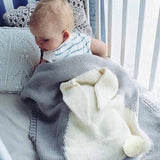 Baby Blanket Wrap Rabbit Crochet Newborn