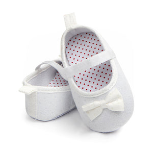 Baby Shoes Spring Bow Classic Canvas