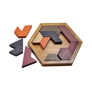 Children Puzzles  Educational Wooden Toys Tangram