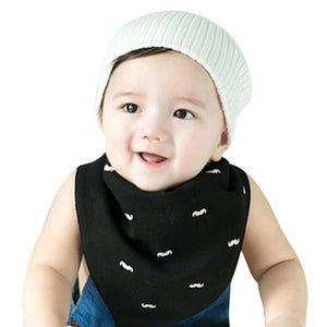 Baby bibs triangle double layers cotton