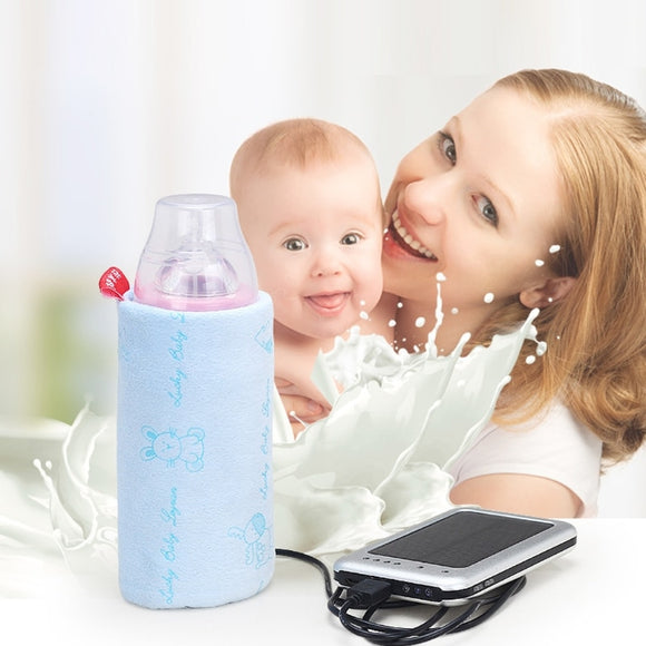Warmer Insulated Bag Baby Nursing Bottle Heater