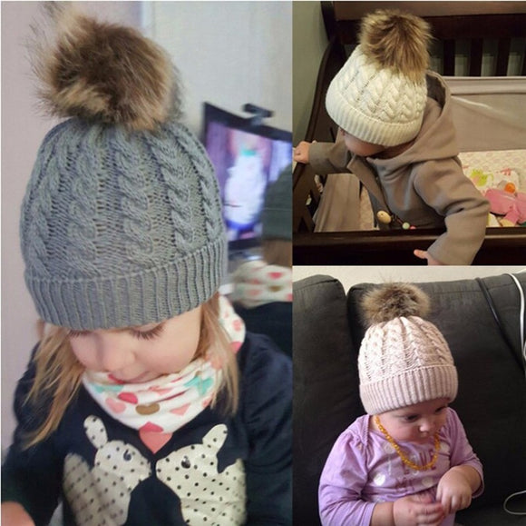 Baby Winter Knitted Hats