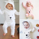 Baby Rompers Cotton Cute Bear Jumpsuit
