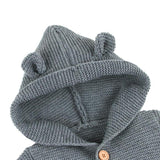Winter Boys Girls Knitted Jumpsuits Newborn Baby