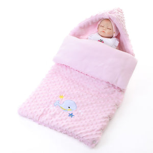 Newborn Baby Lamb Cashmere Blanket Baby Cute Animal Blanket Air Conditioning Blanket Beach Mat