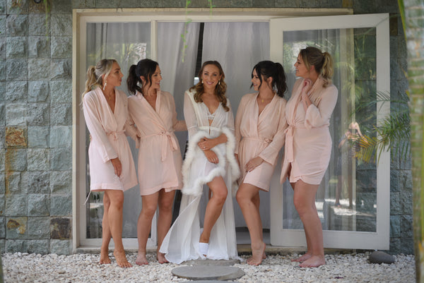 Cara Bridal Robe Nicole Benton When Words Fail