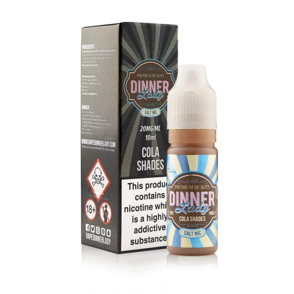 Dinner Lady Nic Salts Cola Shades 10ml eliquid by dinner lady
