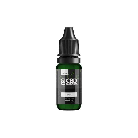 CBD Asylum 250mg CBD E-liquid Unflavoured Shot 10ml