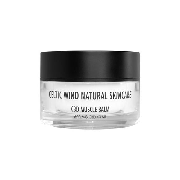 Celtic Wind Crops 600mg CBD Muscle Balm - 40ml