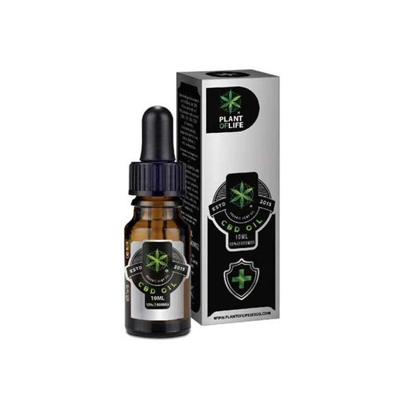 Plant of Life 1000mg CBD Full Spectrum CBD Oil 10ml
