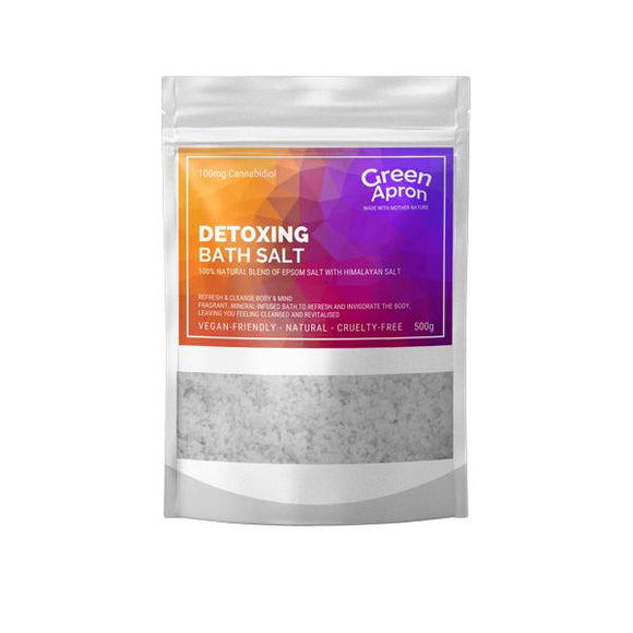 Green Apron 100mg CBD Detox Bath Salts 500g