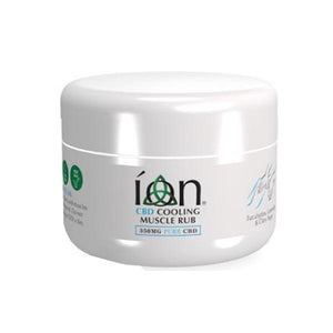 ION Pure CBD Musle Rub 350mg CBD 75ml - Cooling Rub