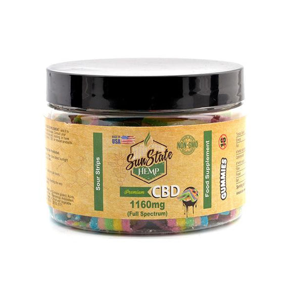 Sun State Hemp 1160mg CBD Gummies