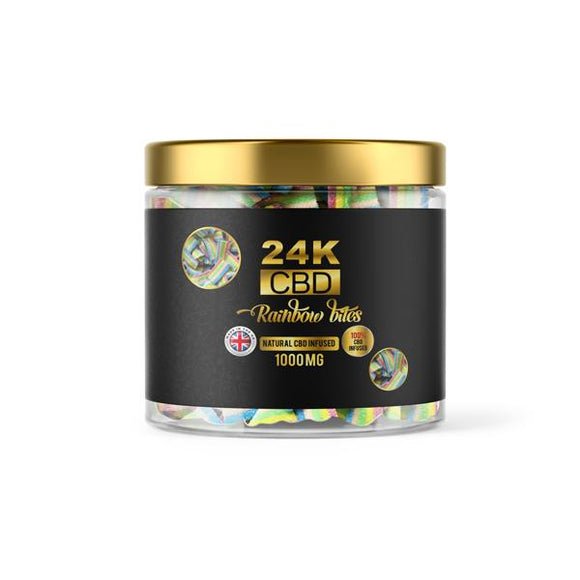 24K 500mg CBD Premium Gummies
