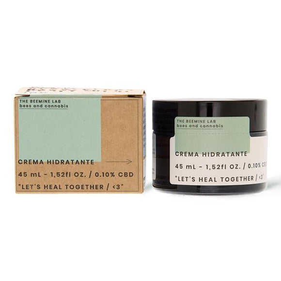 The Beemine Lab 45mg CBD Hydrating Facial Cream 45ml