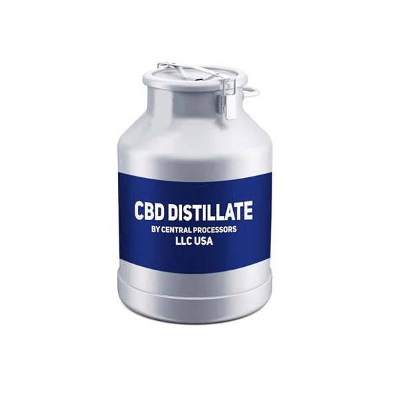 95% + Pure American Broad-Spectrum CBD Distillate Wholesale UK (by Central Processors US)