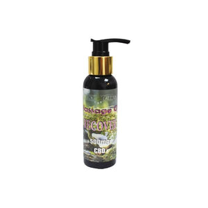 Doctor Green's 500mg CBD Massage Oil 100ml - Recover