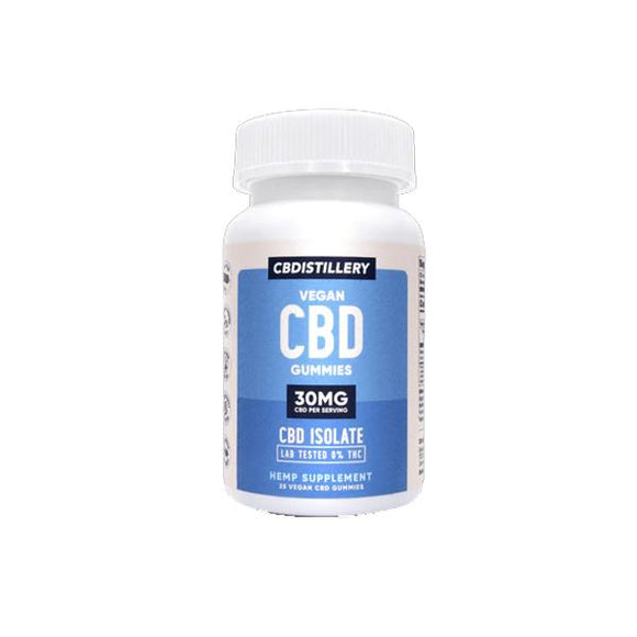 CBDistillery 750mg CBD Vegan Gummies