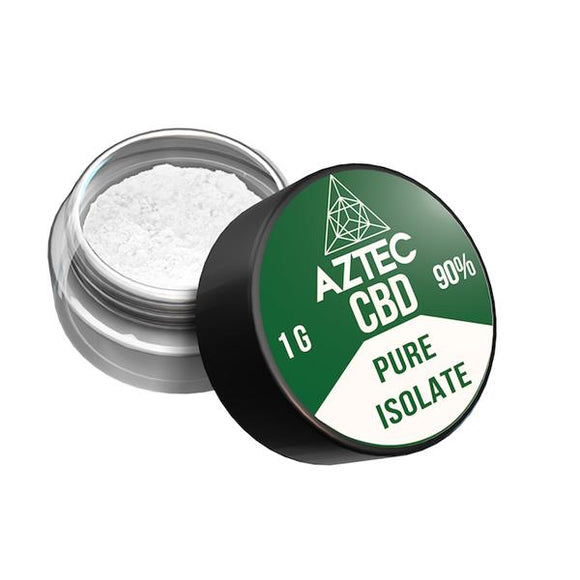 Aztec CBD Isolate 99% 1000mg CBD - 1g