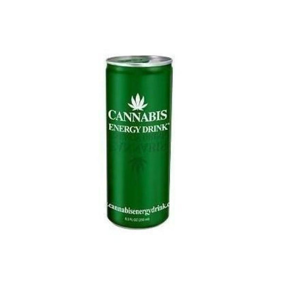 CBD Food & Drink - Cannabis Energy Drink 250ml With Hemp Seed Extract